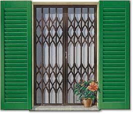 Cancelletti estensibili perucca serrande - Inferriate estensibili per finestre ...
